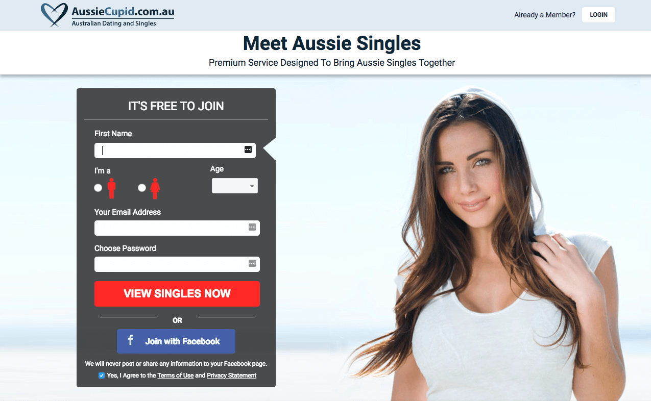 aussiecupid registration
