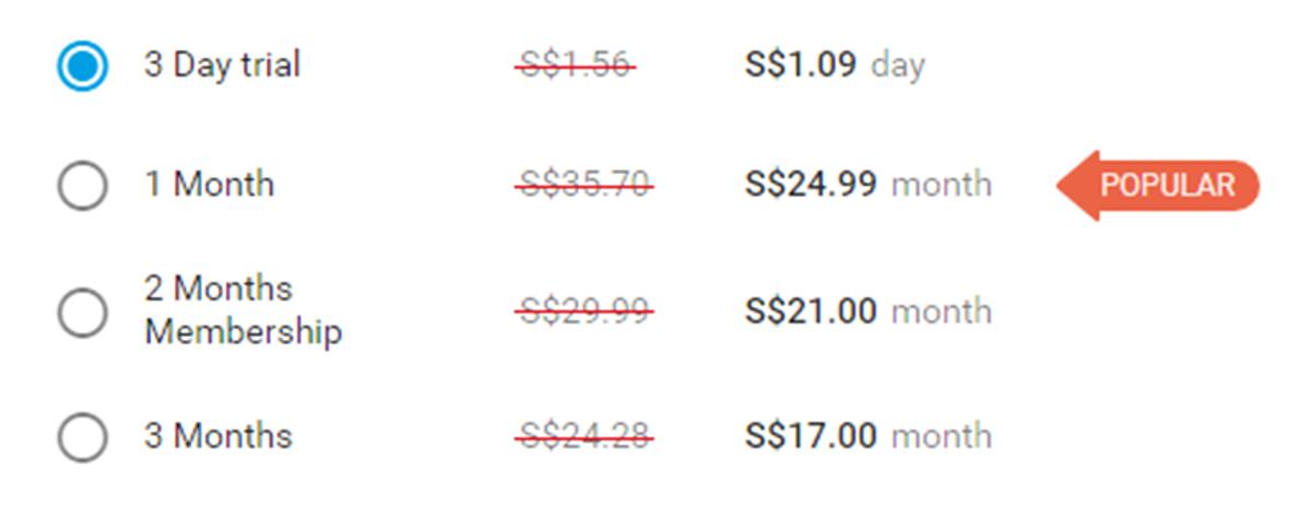 GaysGoDating Price SG