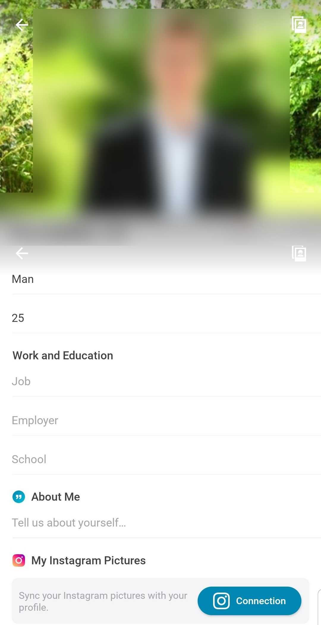 Happn Profile