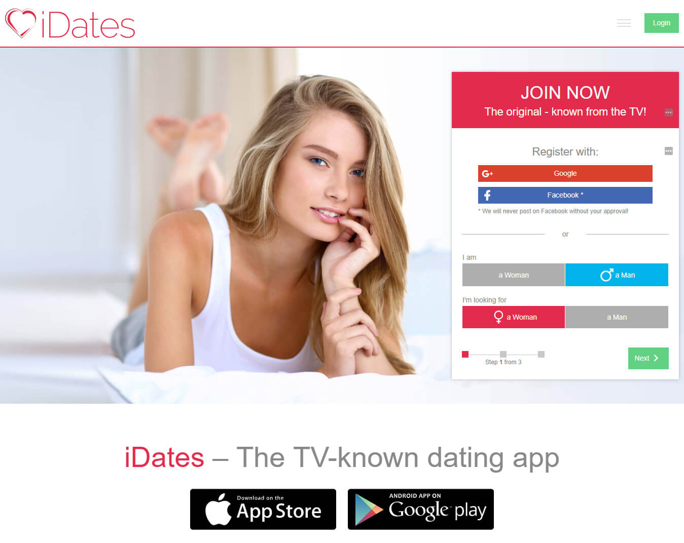 iDates Signup