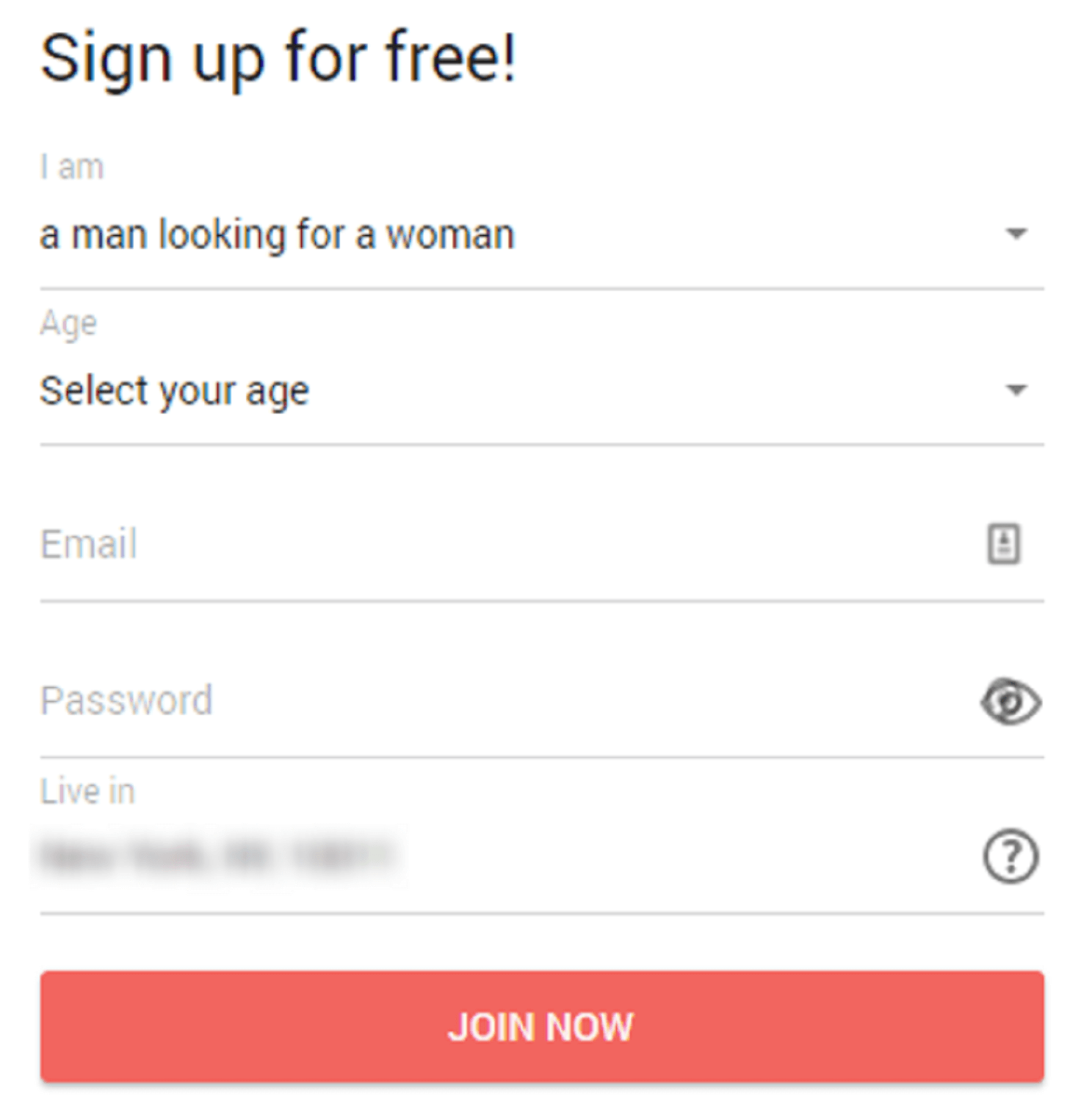 NaughtyDate Registration