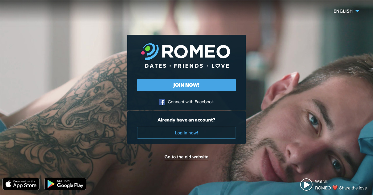PlanetRomeo SignUp