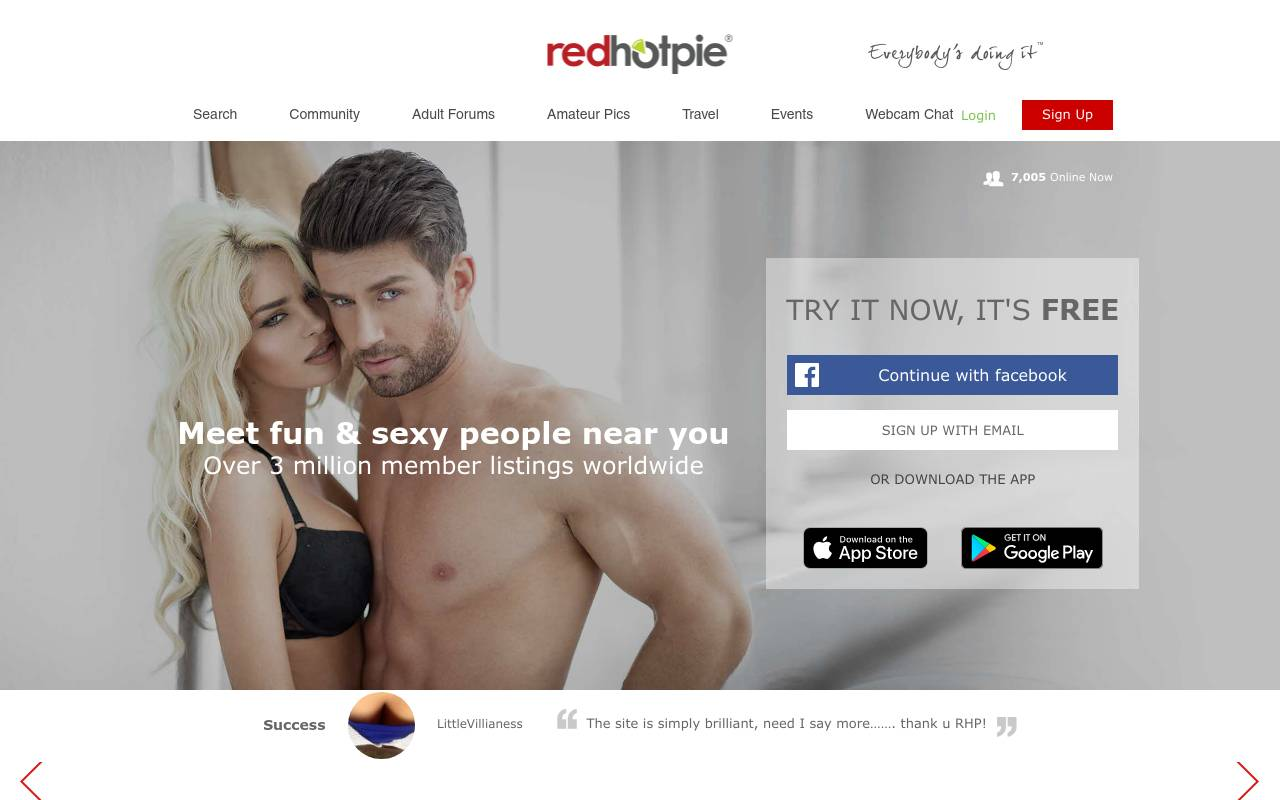 RedHotPie Screenshot