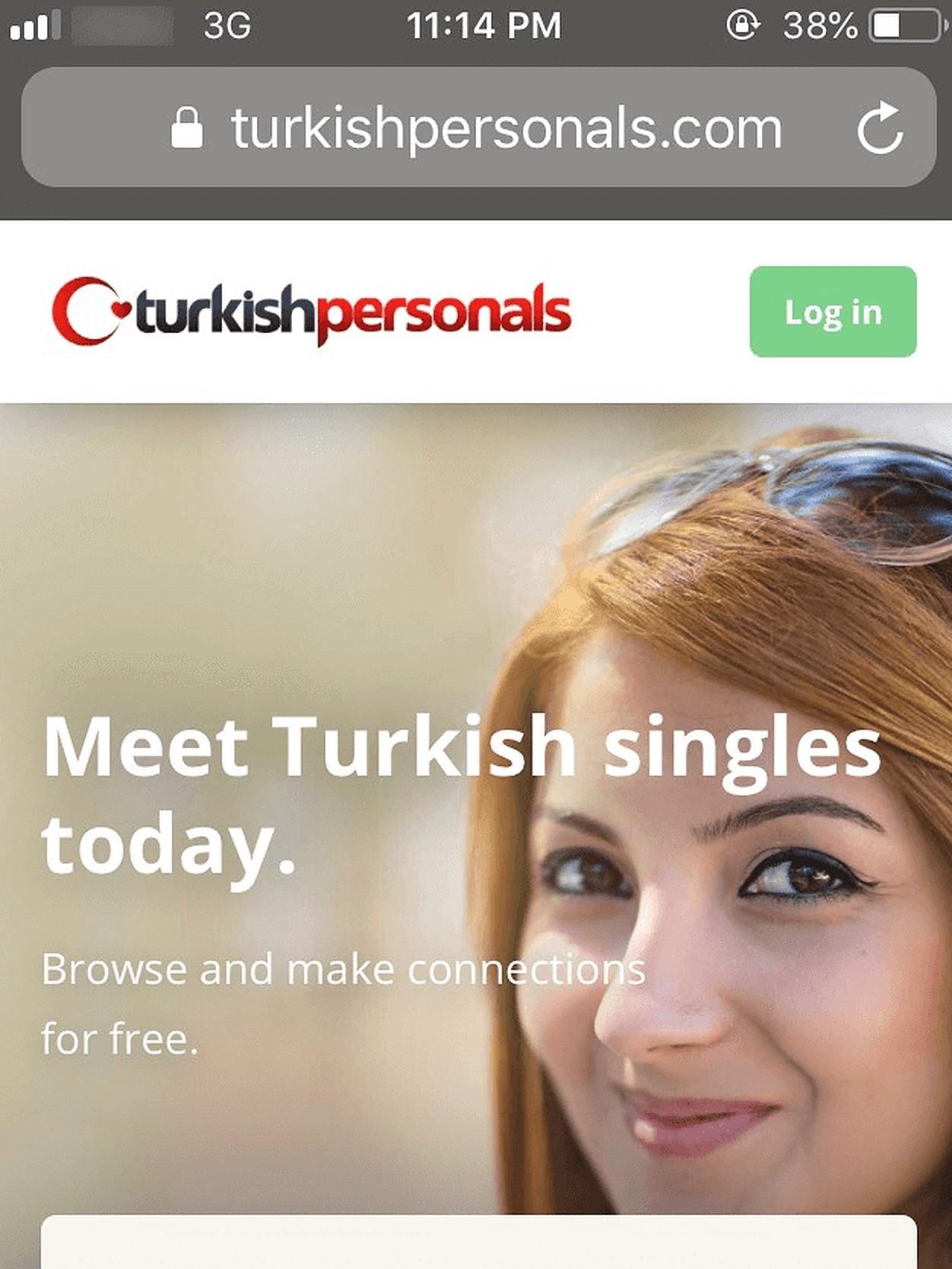 Turkish Personals Mobile Version