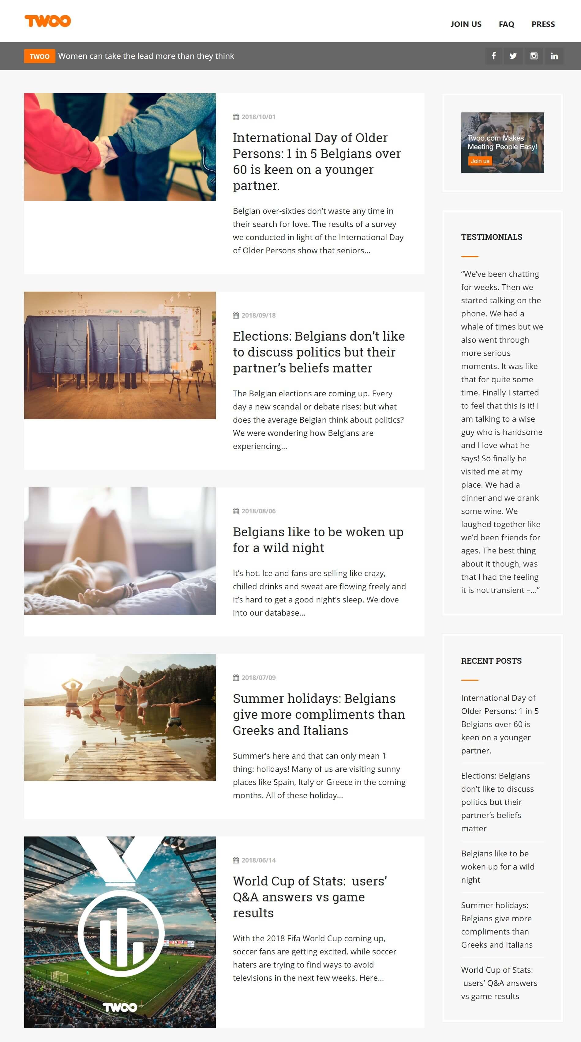 Twoo Blog