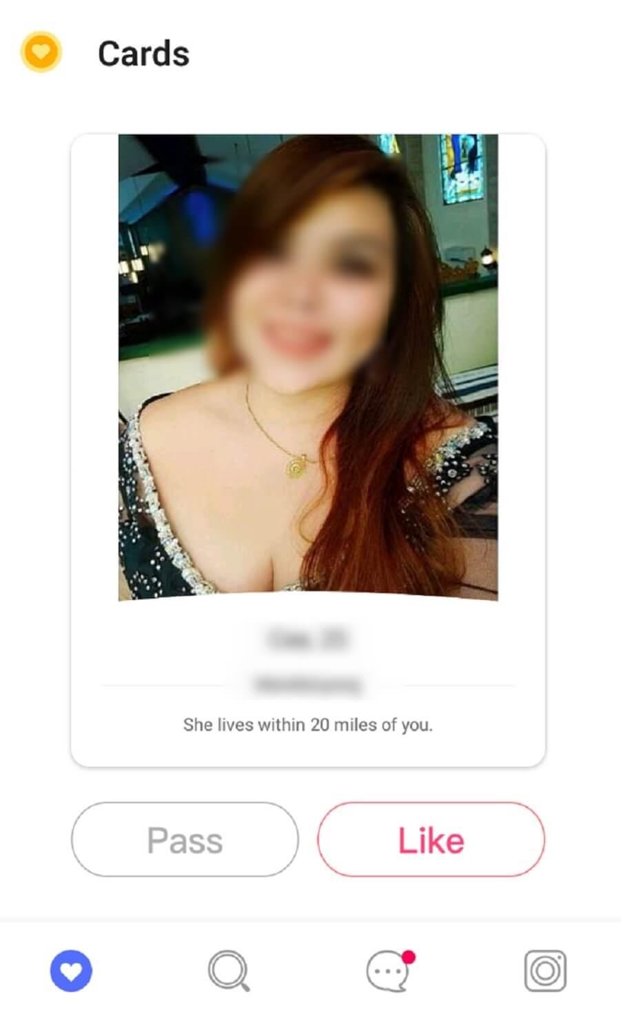 WooPlus Female Member Profile