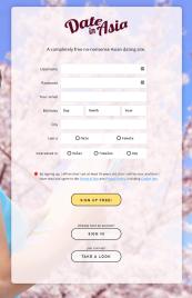DateinAsia Registration Form