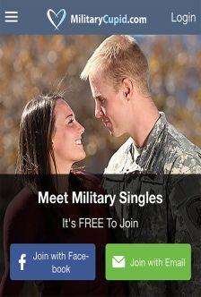 Military Cupid App