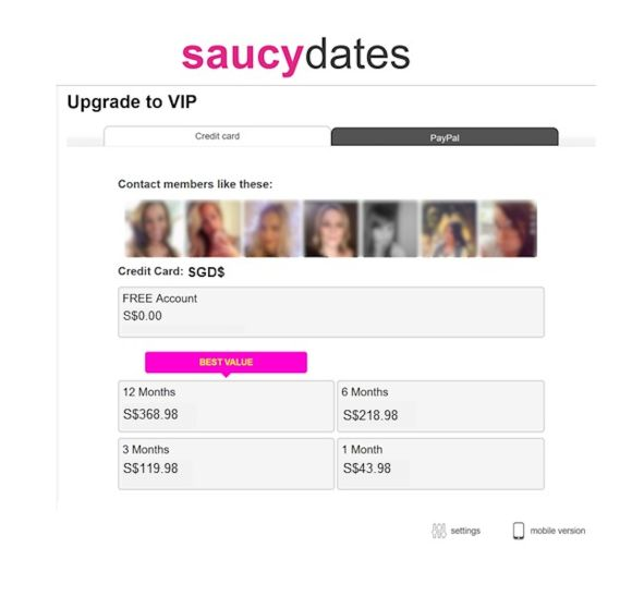 SaucyDates Cost SG