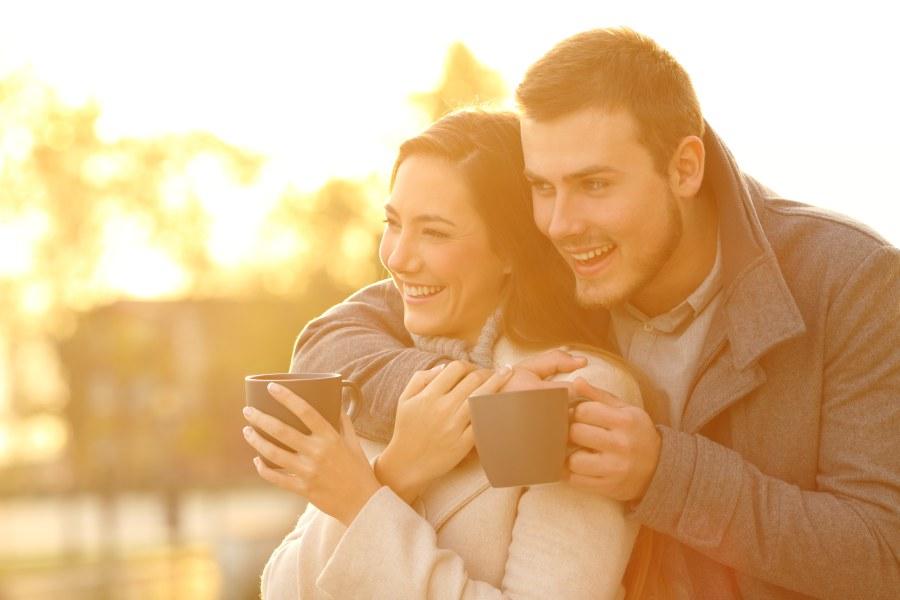 NYE Winter Sunrise Couple