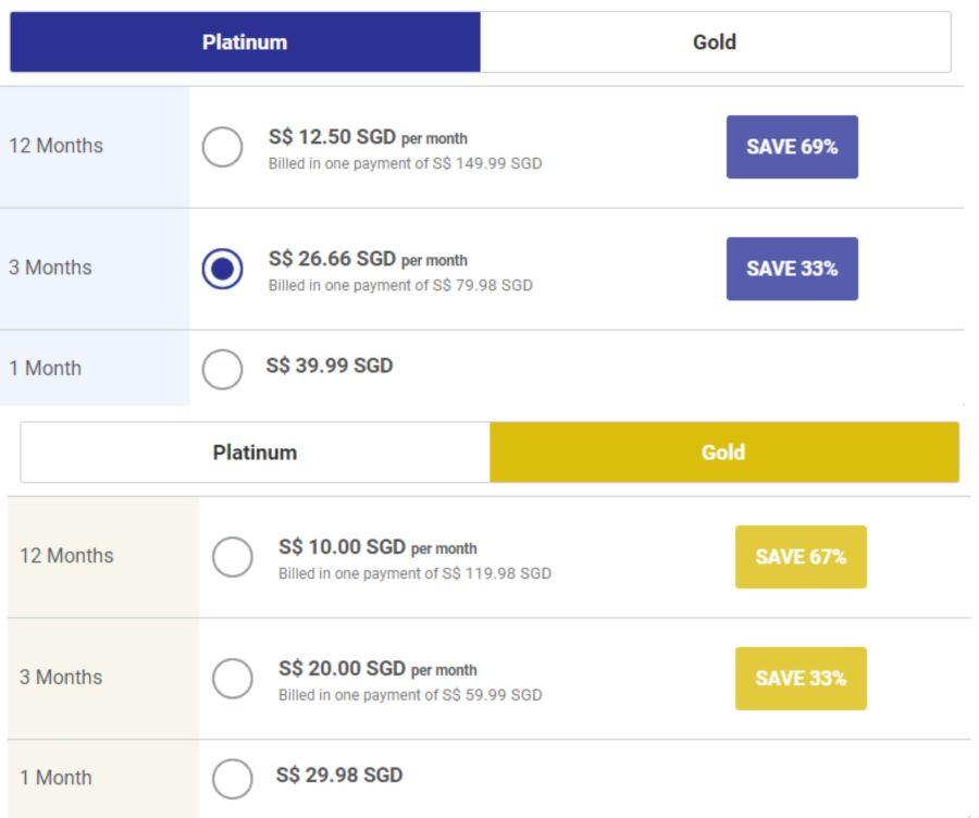 Brazil Cupid Pricing