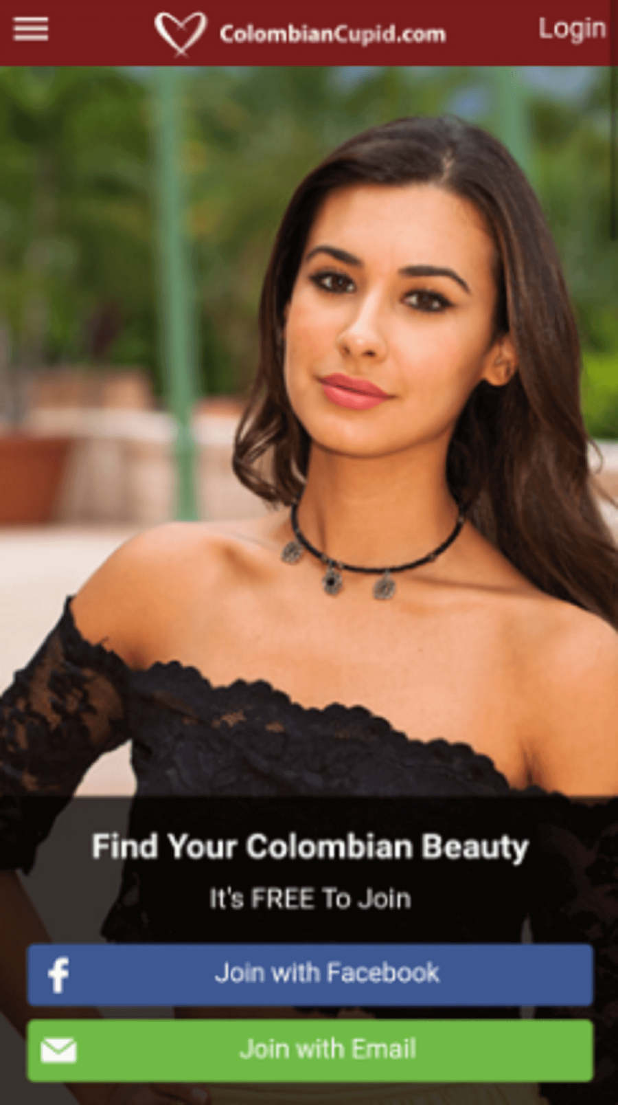 Colombian Cupid Mobile App