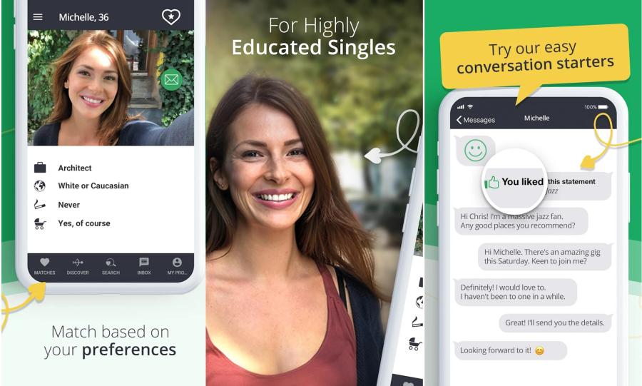 EliteSingles App Ad