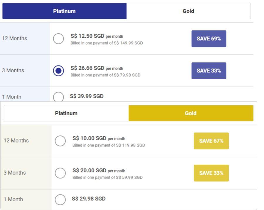 InternationalCupid Pricing SG