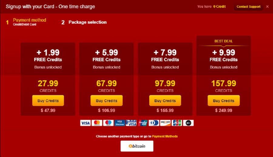 LiveJasmin Prices