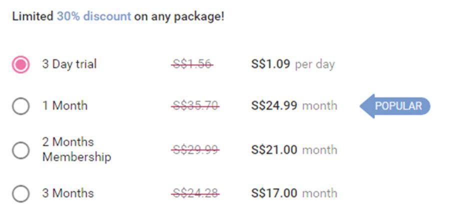 Mamflirt Price SG
