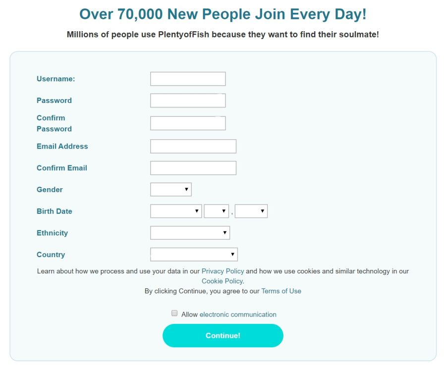 POF Signup